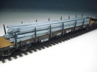 11413 F - Rundeisen metallic-blau, gebündelt, 220 mm lang