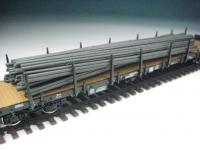 11413 C - Rundeisen schwarz, gebündelt, 190 mm lang