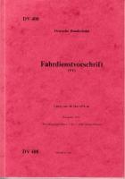 Deutsche Bundesbahn - Fahrdienstvorschrift 1979 (AN 36)