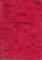 Deutsche Bundesbahn Fahrdienstvorschrift DS 408 Juni 1984 (AN 46)