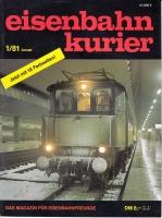 Eisenbahn Kurier 1/81 (AN 3)