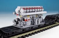 DUHA 11559 - Großer Dieselmotor mit 16 Zylindern (Spur H0)
