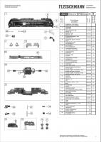 Ersatzteilblatt 726001 - Diesellokomotive BR 253 der Pressnitztalbahn GmbH