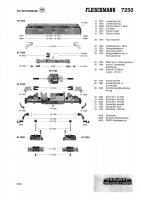 Ersatzteilblatt 7250 Diesellok BR V 200 128