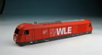 Fleischmann Original-Ersatzteil - Lokgehäuse 726006 WLE
