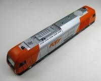 Lokgehäuse 726002 mit Führerstand und Lichtleiter