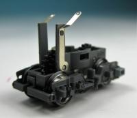 Drehgestellblock m. Rahmen & Rädern, grau für Lok 7260