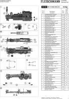 Ersatzteilblatt 707181 - BR 70 066 DRG