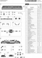 Ersatzteilblatt 725001 Diesellok BR 221 Bocholter Eisenbahngesellschaft