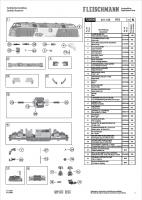 Ersatzteilblatt 725005 Diesellok BR 221.105 RTS