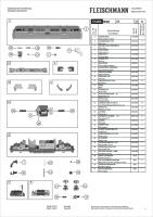 Ersatzteilblatt 725006 - Diesellok BR221, DB