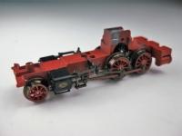 Lokfahrgestell für Lok 7071 mit Rädern