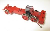 Lokfahrgestell 7071 mit Rädern, jedoch ohne Gestänge