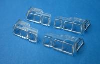 Fenster für Diesellok V200 7250 (4 Stück)