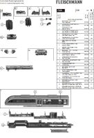 Ersatzteilblatt 7420 - Dieseltriebzug BR 642 der DB AG