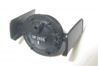 Rauchkammertür mit Windleitblechen für BR38