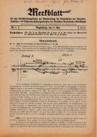 Merkblatt für das Dienstvortragswesen zur Unterweisung der Bediensteten, Magdeburg, 15. Mai 1929