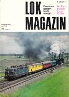 Lok Magazin Nr. 73, August 1975
