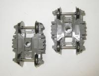 2 x Drehgestell für Fleischmann H0 ICE-T-Mittelwagen mit Neigetechnik 4461(12)