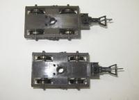 2 x Drehgestell für Fleischmann H0 Fernschnellzugwagen 5160