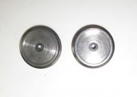 Fleischmann Ersatzteil - 2 Räder für Dampflok Ø 19 mm mit Isolierbuchse (31)