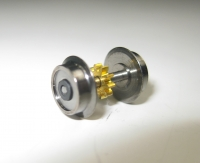Fleischmann N - Radsatz mit Vollscheibenrädern Ø 8,36 mm