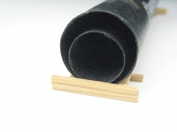 DUHA 12214 - 2 schwarze Rohre