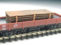 DUHA 14220 - Stahlplatten (Spur Z)