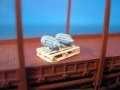 DUHA 11231 - 2 Elektromotoren auf Palette, klein (Spur H0)